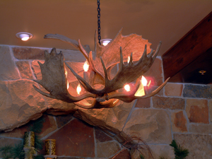 Antler Lamps by the best Antler Artist in the West!